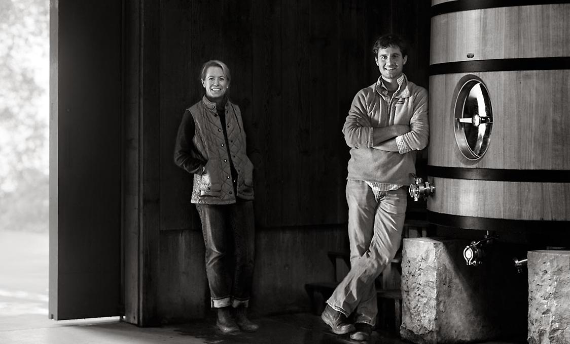 Mary Maher (Vineyard Manager), Cory Empting (Winemaker)